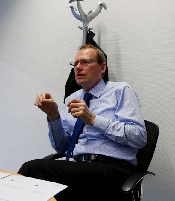 """""""Das CEP tut erst mal keinem weh – weil es noch keine Regulierung ist"""", Werner Scholz."""