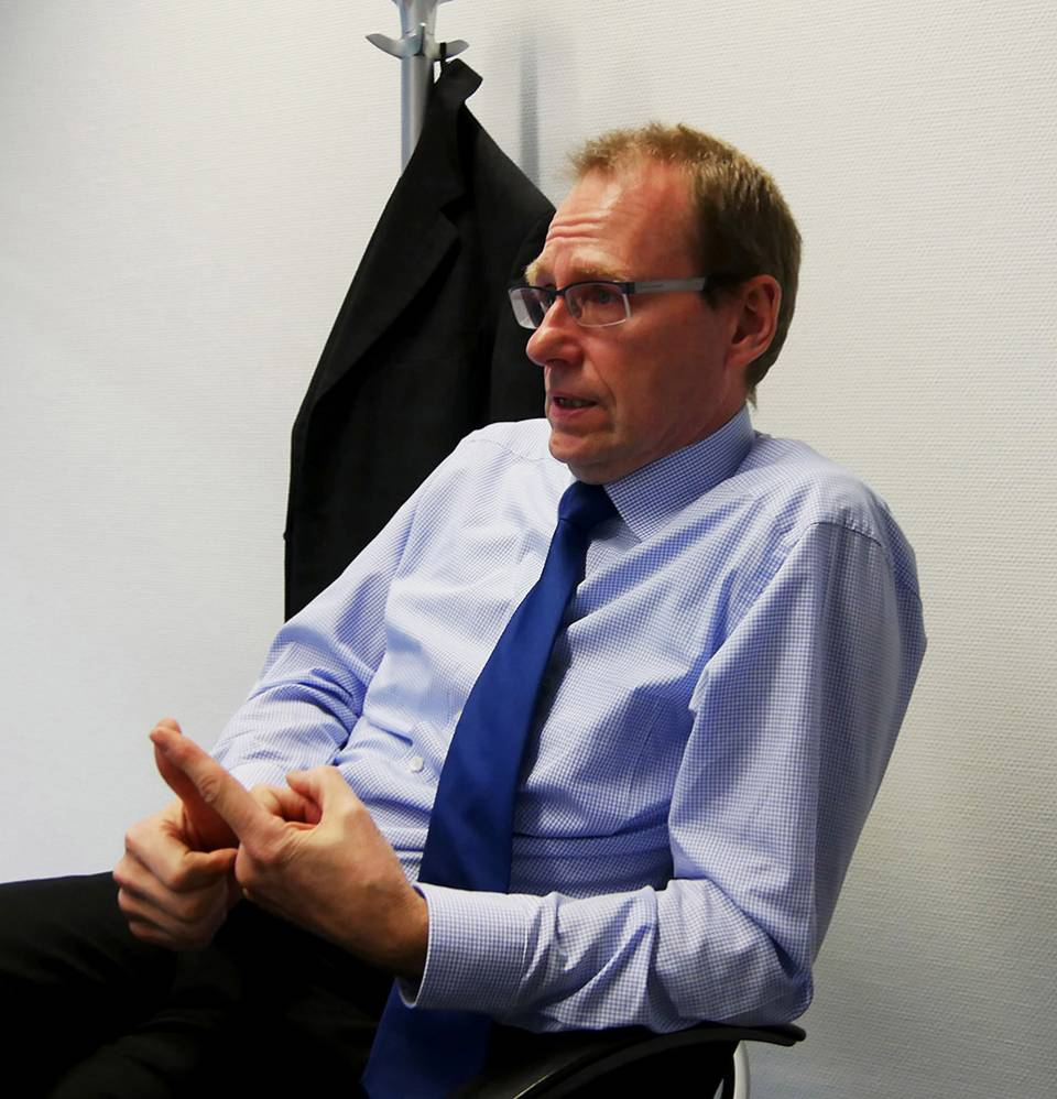 """""""Da kommt etwas und es wird sicherlich auch die Hausgeräte treffen"""", Werner Scholz, Geschäftsführer Fachverbände Elektro-Haushalts-Großgeräte sowie Elektro-Haushalts-Kleingeräte."""