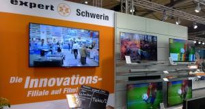 Am Beispiel der Innovations-Filiale Schwerin wurden den expert-Gesellschaftern neue Möglichkeiten und Ideen für den POS vermittelt.