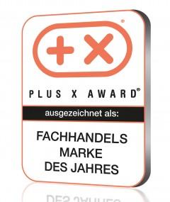 Plus X Award: Siegel - Der Fachhandel wählt