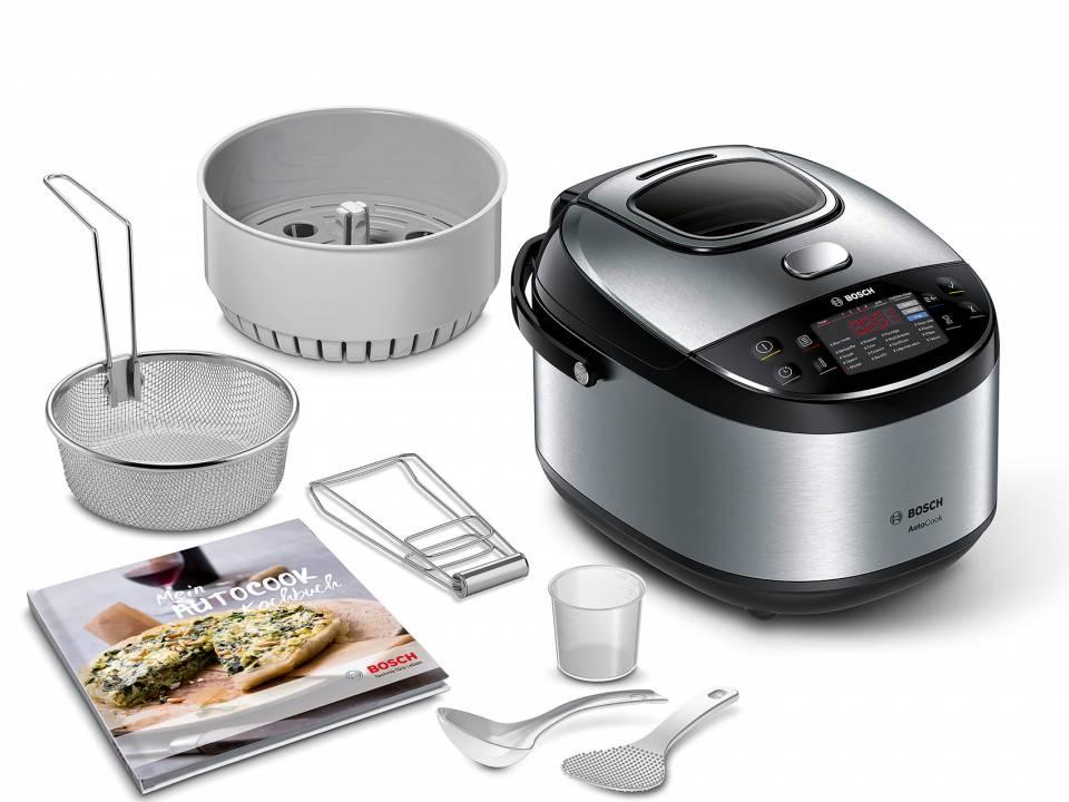 Bosch Multicooker AutoCook auch als Bosch AutoCook Pro erhältlich.