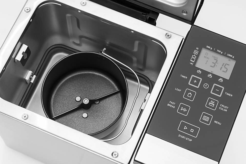 Caso Brotbackautomat BM 1000 für 3 Brotgrößen.
