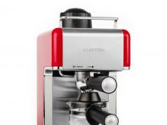 Die Klarstein Espressomaschine Sagrada in Rot