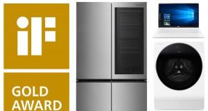Kühlschrank und Waschmaschine der Signature-Edition von LG wurden als Beste ihrer Kategorie geehrt.