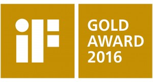 Logo iF Design Award Gold 2016