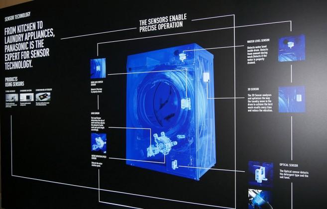 Programmsuche ade: AutoCare stellt ganz automatisch das richtige Waschprogramm ein. Dafür sorgen vier intelligente Sensoren, die in Echtzeit den Programmablauf berechnen.