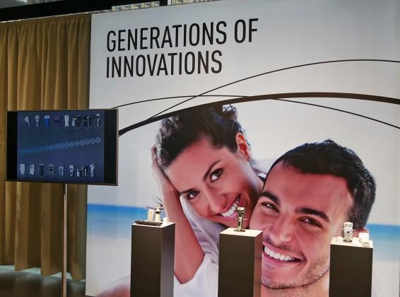 Zur Convention zeigte Panasonic eine erweiterte Range an IPL-Haarentfernungsgeräten, Epilierern und insbesondere Rasierer mit 5fach-Scherköpfen und Bartdichtesensor.