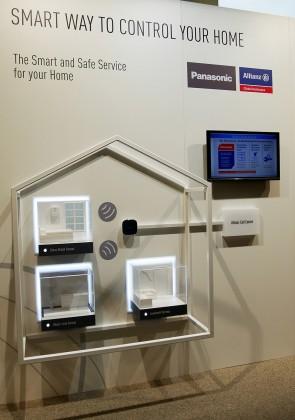 Mit pfiffigen Präsentationsideen demonstrierte Panasonic, wie das Thema Smart Home für den Konsumenten noch leichter erlebbar gemacht werden kann.