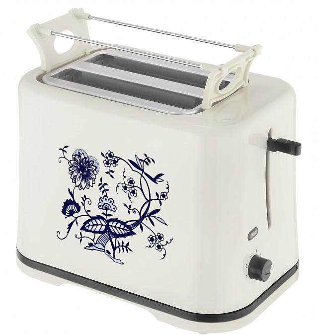 efbe-Schott Toaster SC TO 1080 ZW mit wärmeisoliertem Gehäuse.
