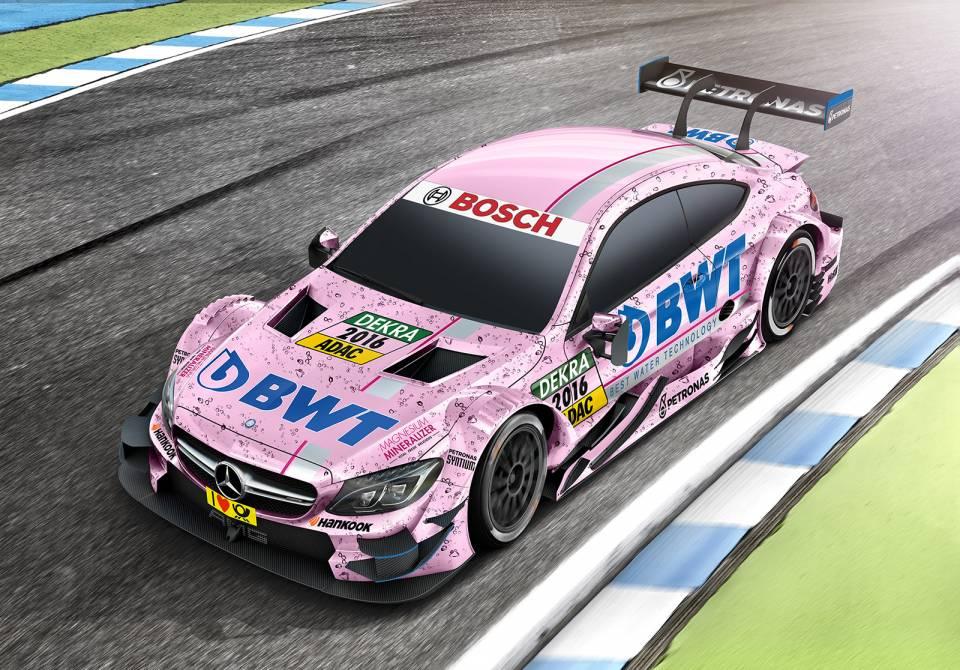 BWT: In Pink auf die Überholspur.