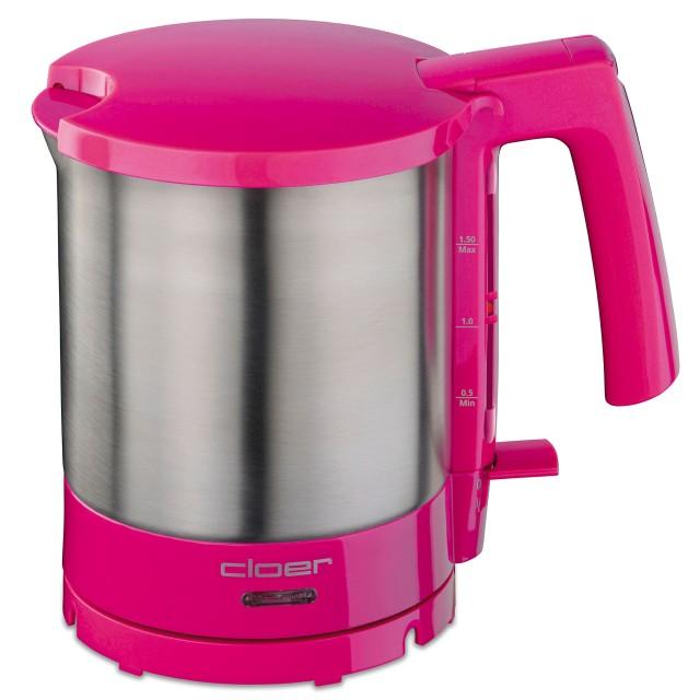 Cloer Wasserkocher 4717 mit 1.5 l Fassungsvermögen.