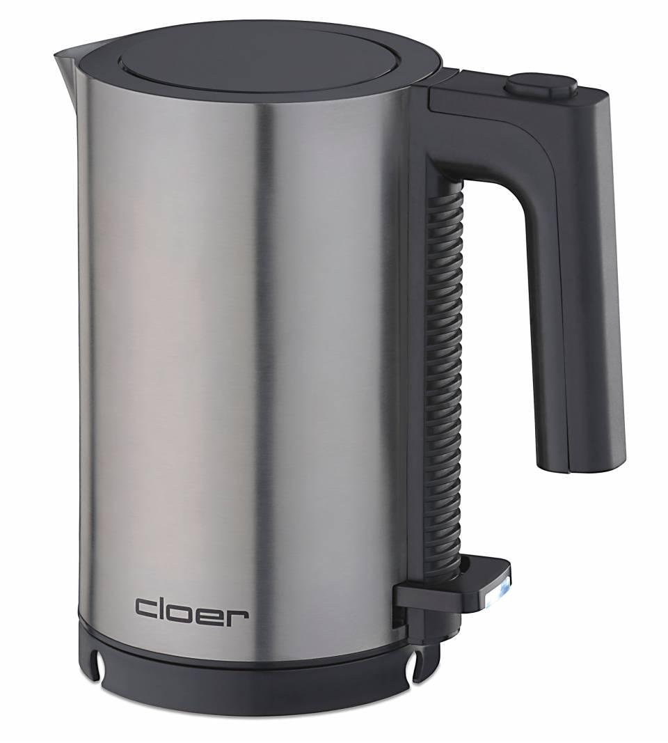 Cloer Wasserkocher 4990 nur 20 cm Höhe.