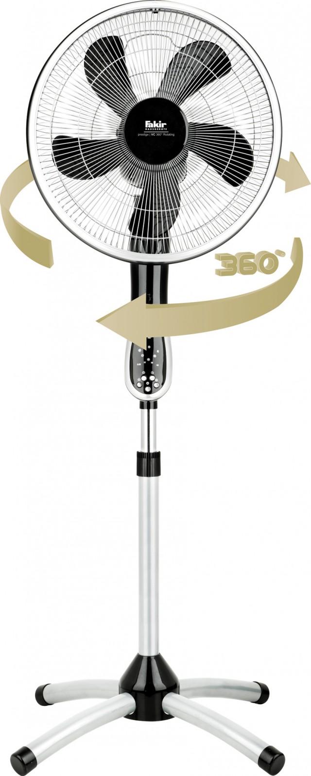 Fakir Rotating 360 mit 360-Grad-Rotation.