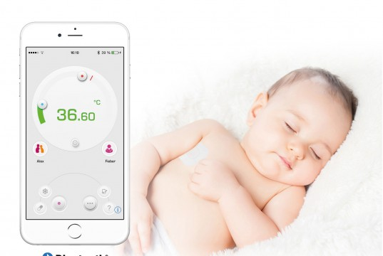 Medisana Bluetooth Fieberthermometer TM 735 mit Thermo App.