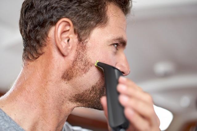 Selbst einen 5-Tage-Bart schafft der OneBlade problemlos.
