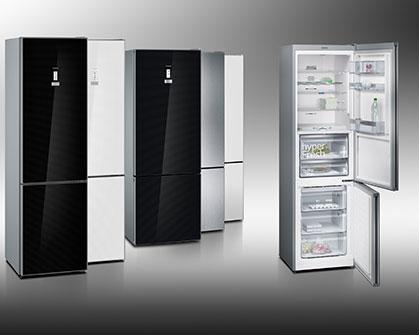 Intelligente Option: Ein integrierter WiFi-Adapter sorgt dafür, dass die coolFlex Bottom Freezer über die Home Connect App auch von unterwegs gesteuert werden können.