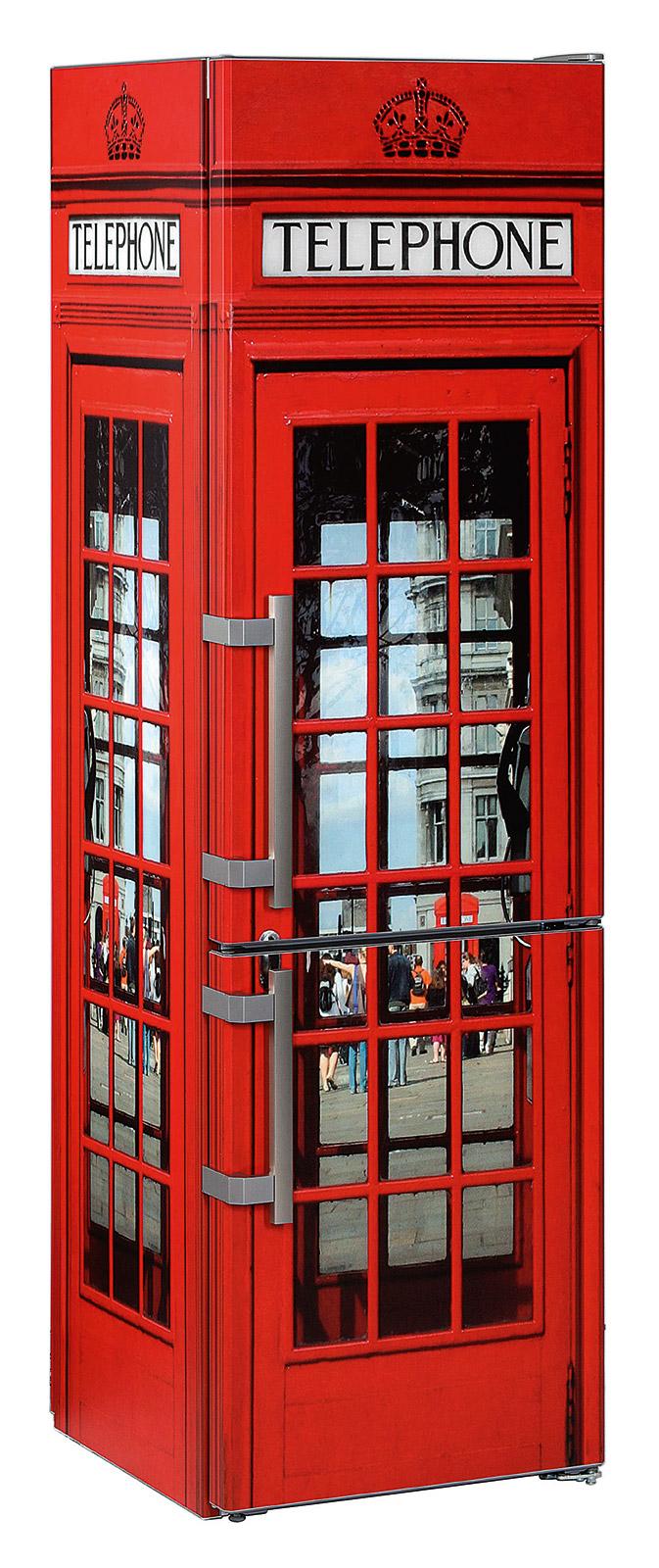 Liebherr: Coole Telefonzelle
