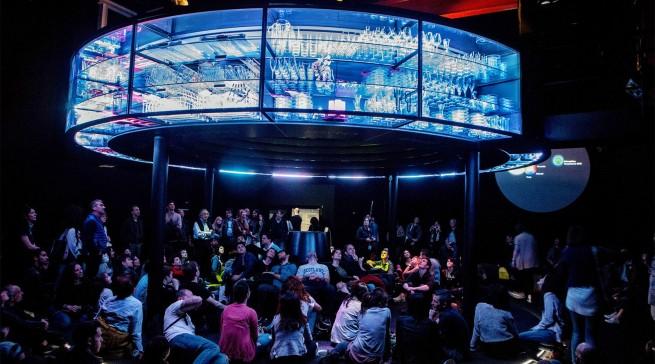 """""""The Invisible Kitchen"""" faszinierte die Besucher in Mailand mit einer Vision von der Zukunftsküche."""