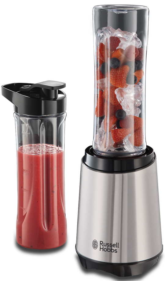 Russell Hobbs Smoothie Maker Mix & Go Steel 23470-56