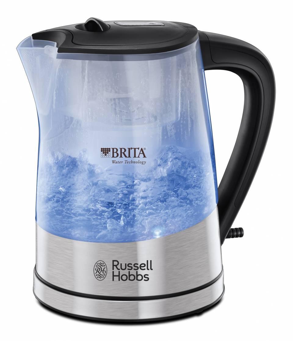 Russell Hobbs Wasserkocher Purity 22850-70 mit Perfect-Pour-Ausgusstülle.