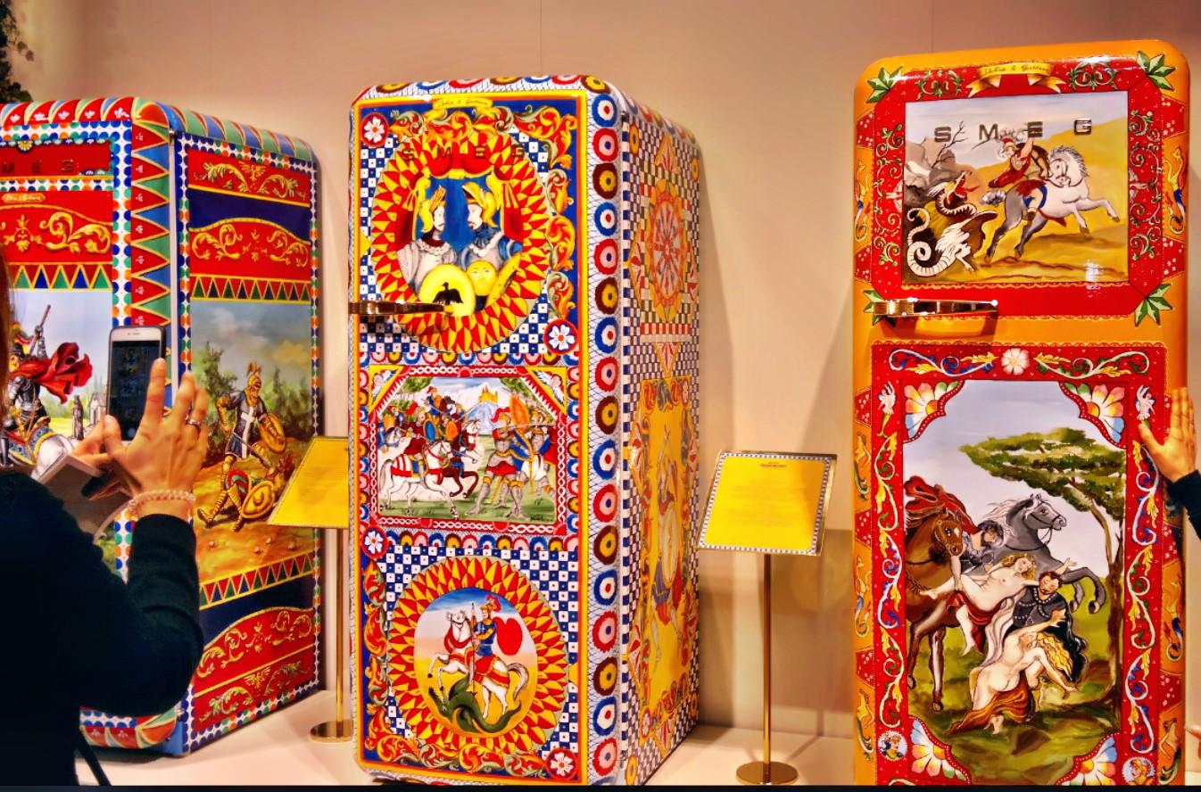 Smeg Kühlschrank Dolce Gabbana : Eurocucina bilanz: betreutes kochen
