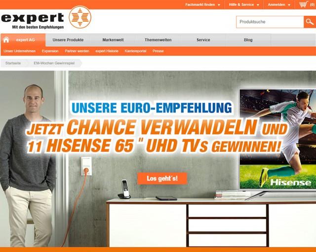 Auch online: Gewinnspiel mit Markenbotschafter Mehmet Scholl.