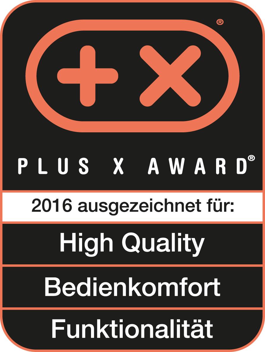 Plus X Award Logo Unold 2016