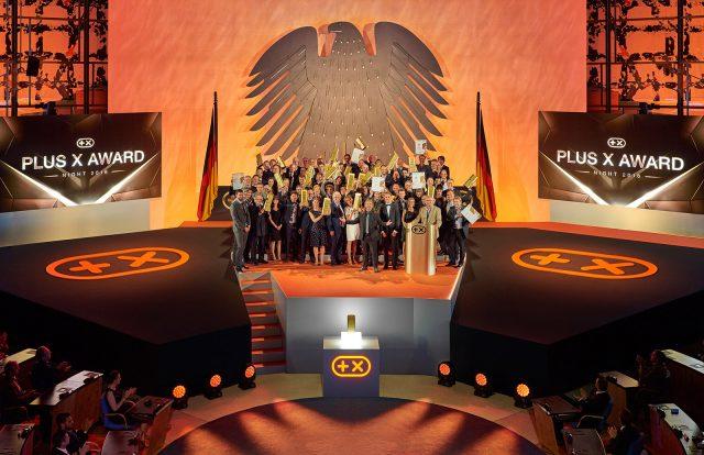 Plus X Award Night: Ein Abend der Superlative in Bonn am vergangenen Donnerstag für die innovativsten Marken des Jahres.