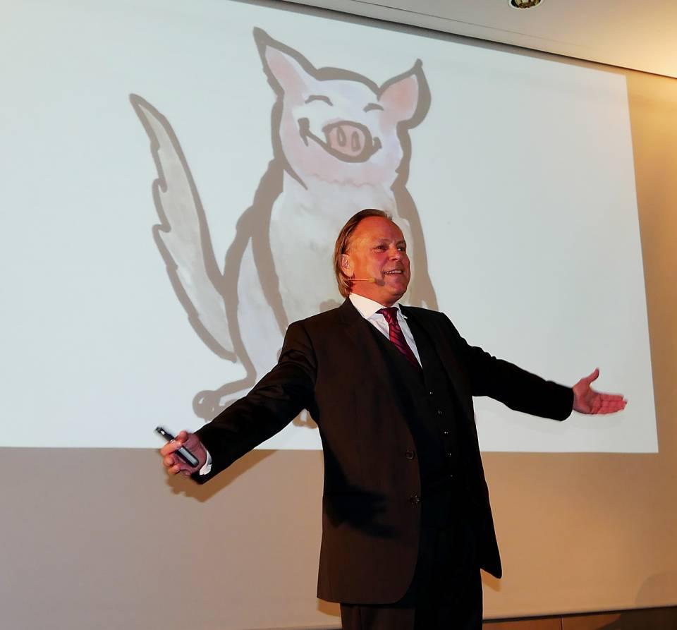 """Gastredner Dr. Marco Freiherr von Münchhausen zum Thema Selbstmotivation: """"So zähmen Sie Ihren inneren Schweinehund!"""""""