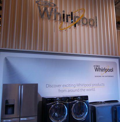 Whirpool-Gruppe auf der IFA 2015
