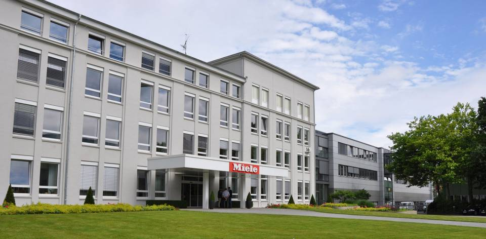 In Bielefeld steht das zweitgrößte Werk der Miele-Gruppe.