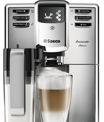 Der Saeco Kaffee-Vollautomat Incanto Deluxe HD8921/01
