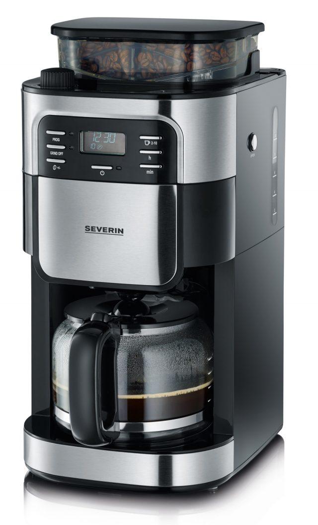Severin Kaffeemaschine KA 4810 mit integriertem Mahlwerk.