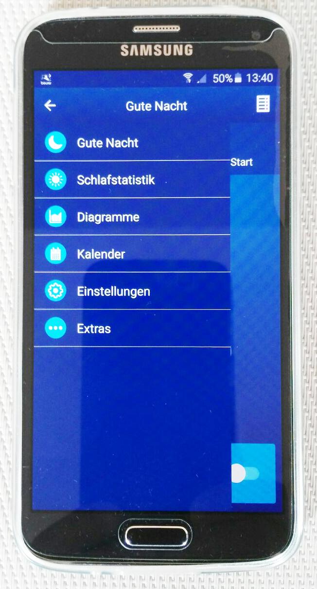 Beurer Sleepexpert App im Überblick