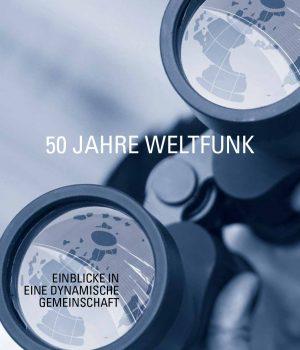 Zu ihrem 50. Geburtstag hat die Weltfunk eine 24-seitige Jubiläumsbroschüre veröffentlicht.