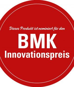 BMK-Innovationspreis Aufkleber
