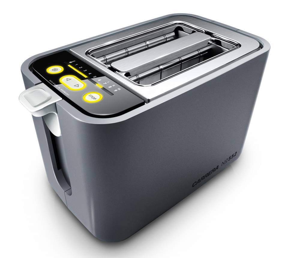 Carrera Toaster No552 mit Countdown-Funktion.