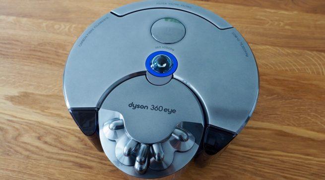 Dyson 360 Eye Test