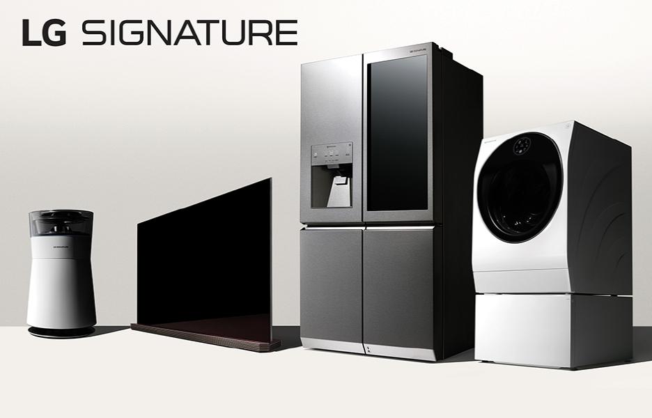 Exklusive Premium-Marke von LG: Signature.