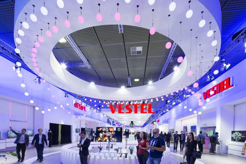 Vestel zeigt auf der IFA auf 3.000 Quadratmetern, was State of the Art ist.