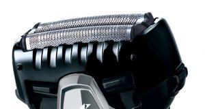 Panasonic Rasierer ES-ST3N mit bogenförmiger Scherfolie.