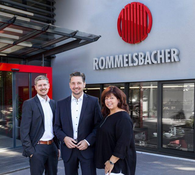 Das neue Marketing-Team von Rommelsbacher (v.li): Thomas Gehring, Thomas Alter und Karin Lechner.