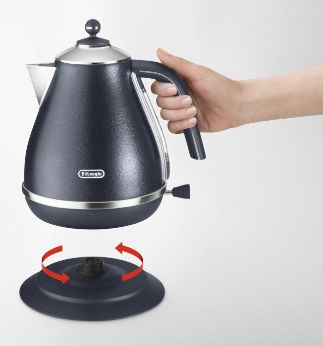 De´Longhi Wasserkocher Icona Elements mit Kalkfilter.