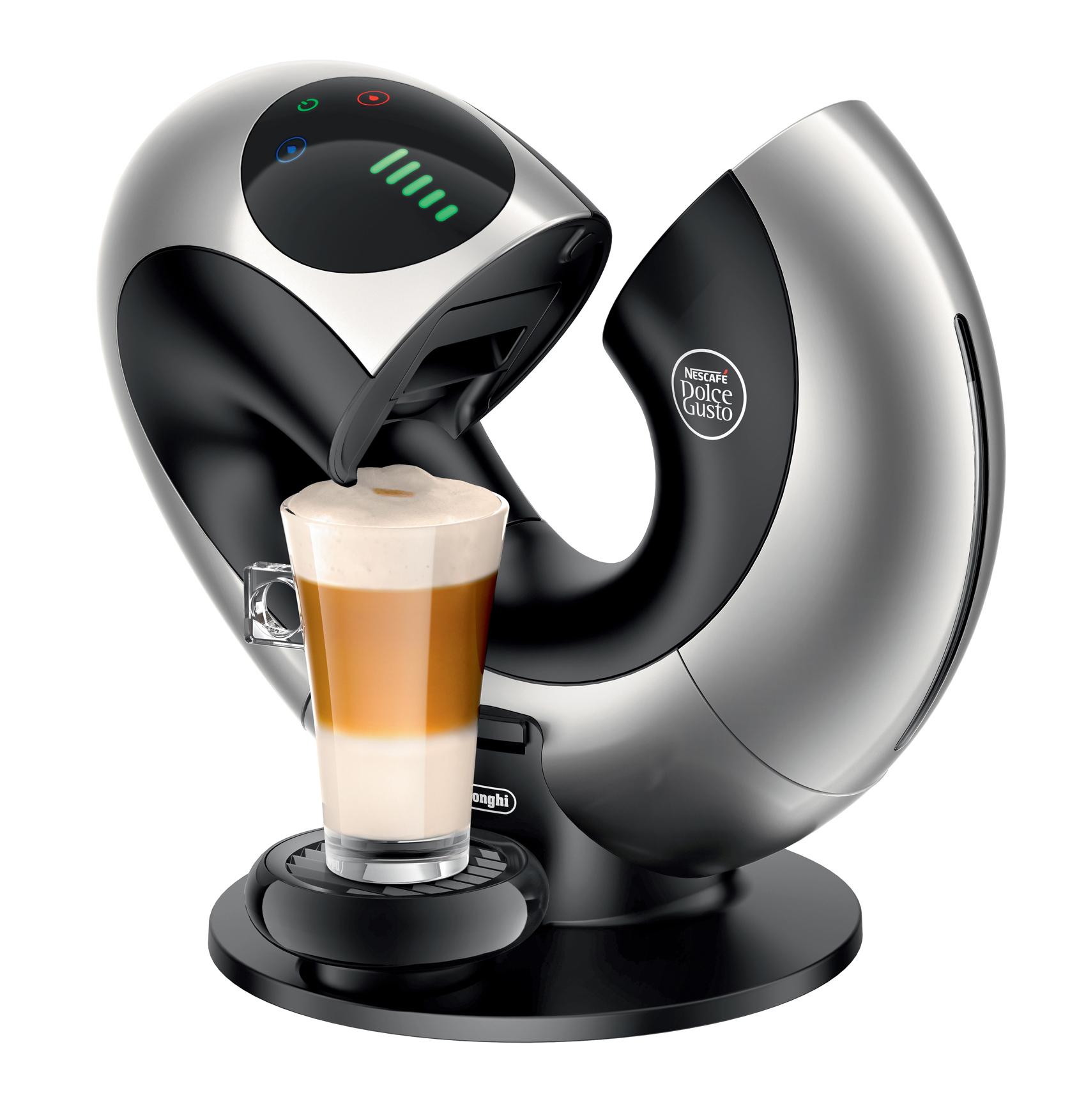 DeLonghi Nescafé Kaffeemaschine Dolce Gusto Eclipse ~ Kaffeemaschine Heißer Kaffee