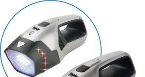 Fakir Akkusauger AS Premium 1108 T CBC mit Power-LED-Leuchte und Notfallblinklicht.