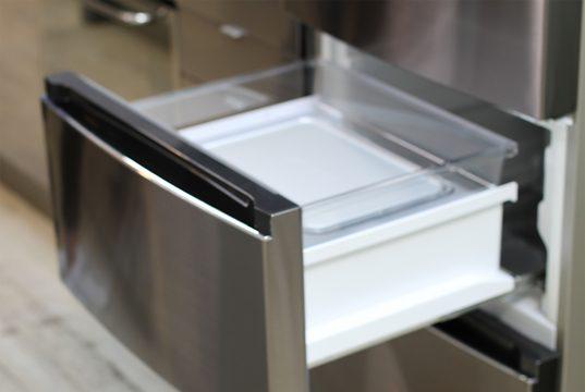 Haier 3D Kühl-/Gefrierkombination mit Fresher Techs.