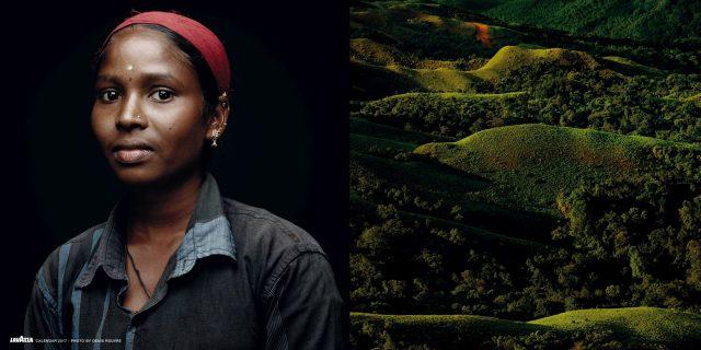 Die Magie der Gesichter spielt die Schlüsselrolle im Lavazza Kalender 2017