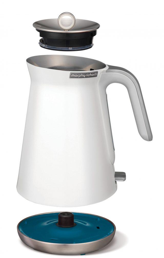 Der Morphy Richards Aspect Wasserkocher in Weiß
