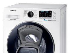 Samsung Waschmaschine AddWash SLIM WW5500. mit nur 45 cm Tiefe.