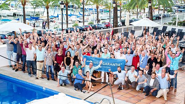 Wertgarantie: Belohnung und Entspannung unter südlicher Sonne auf Mallorca.